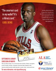 The Smartest Card in Your Wallet is a Library Card - Poster with Luol Deng