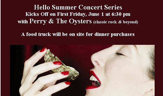 Hello Summer Concert - Perry & the Oysters